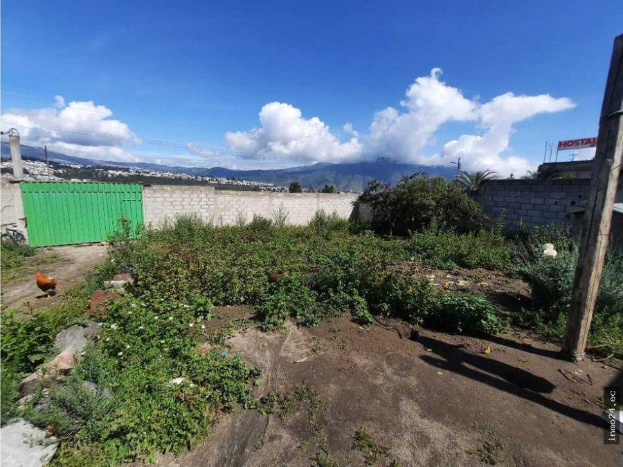 vendo terreno sector norte calderon las acacias ii