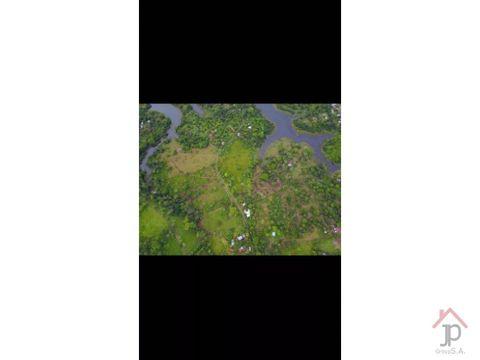 vendo terreno para urbanizar en frente de lago gatun
