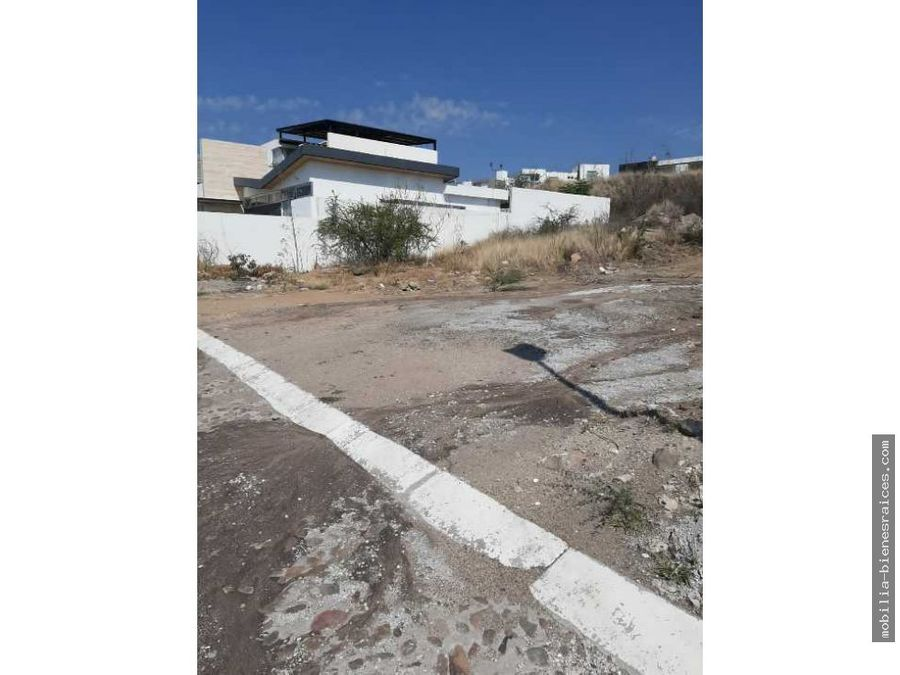 vendo terreno vista real 500 m2 25 mdp