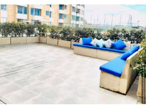 vendo y arriendo apartamento en chia con terraza