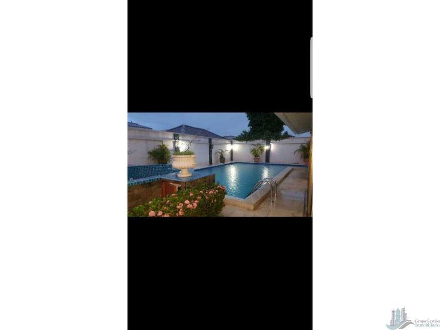 vendo y o alquilo casa con piscina en david