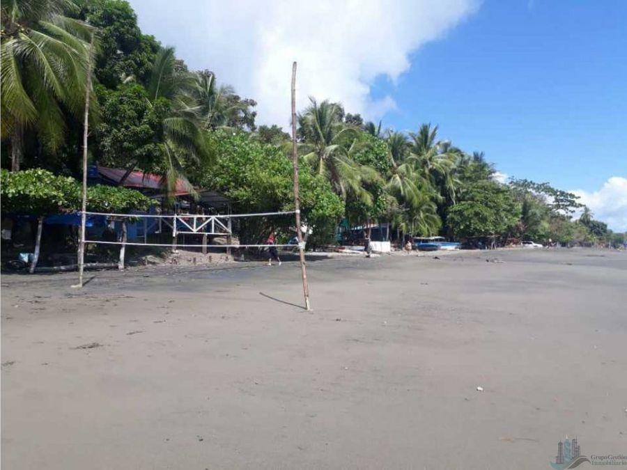 vendo 1099 m2 de terreno de playa en petroterminal