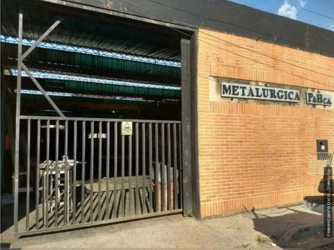 local y fondo de comercio de una metalmecanica