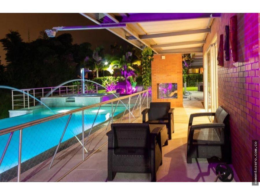 venta moderna casa campestre en condominio pueblito cafetero