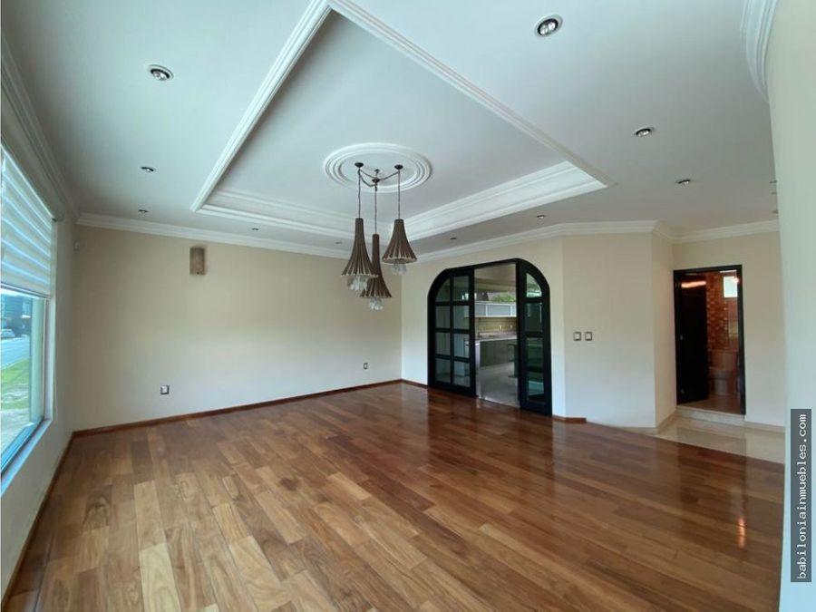 venta o renta casa residencial en club de golf