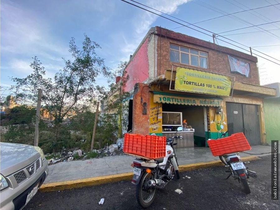venta o renta de lote comercial en centro de pachuca