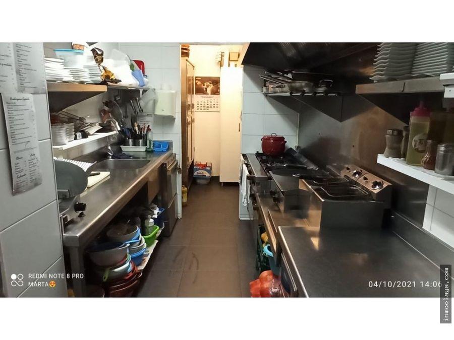 venta bar de tapas restaurante en bigues i riells