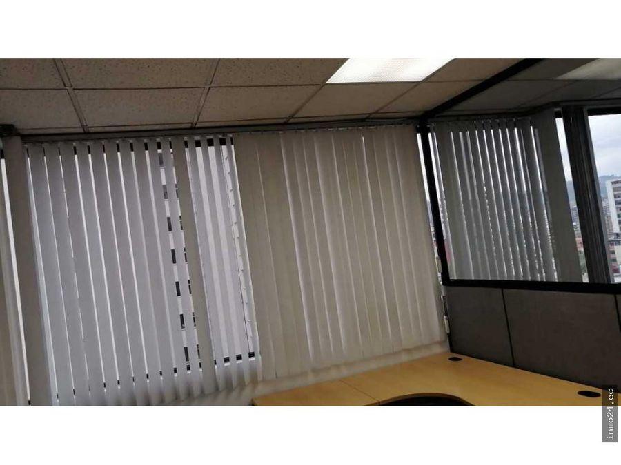 venta oficina amoblada sector la colon centro norte de quito
