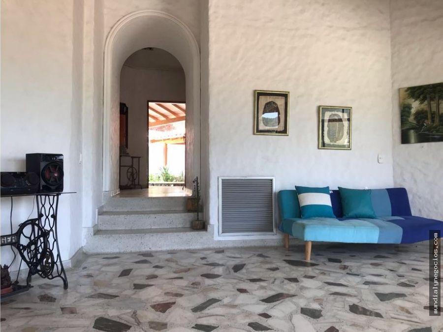 venta amplia y hermosa casa conj cerrado sector ziruma smarta arc