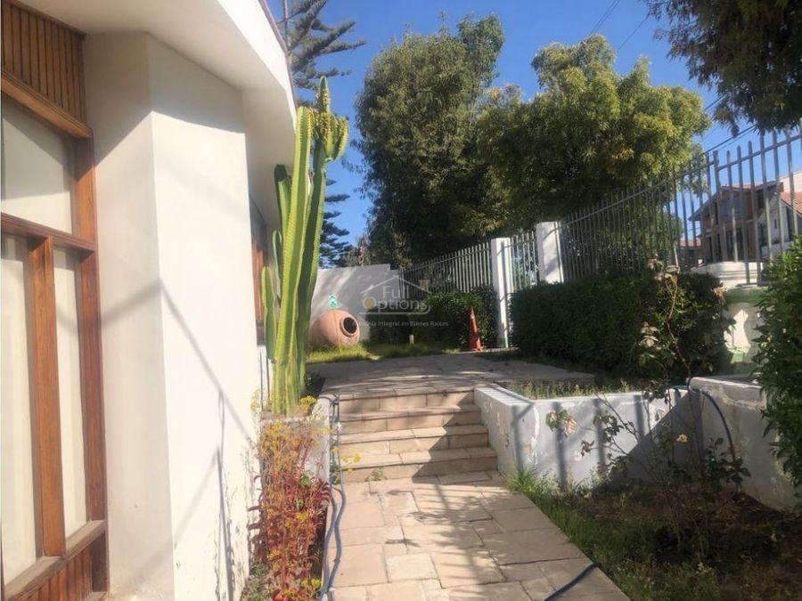 venta amplia casa en yanahuara