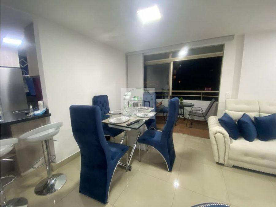 venta apartamento amoblado medellin loma de los bernal 92 m2