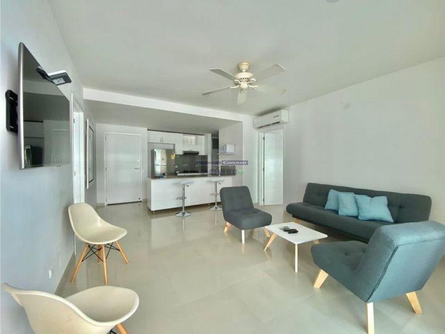 venta apartamento amoblado 2 habitaciones en morros epic cartagena