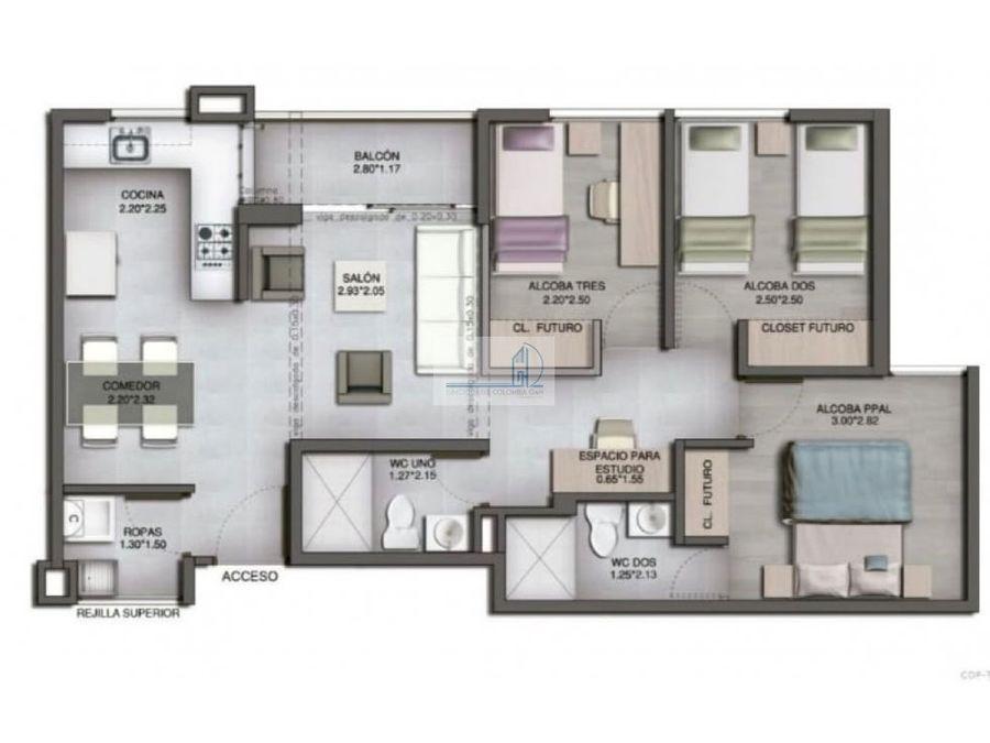 venta apartamento bernal medellin