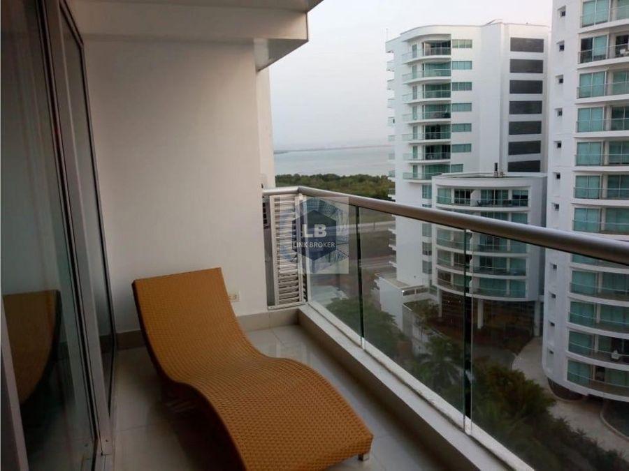 venta apartamento cartagena frente al mar