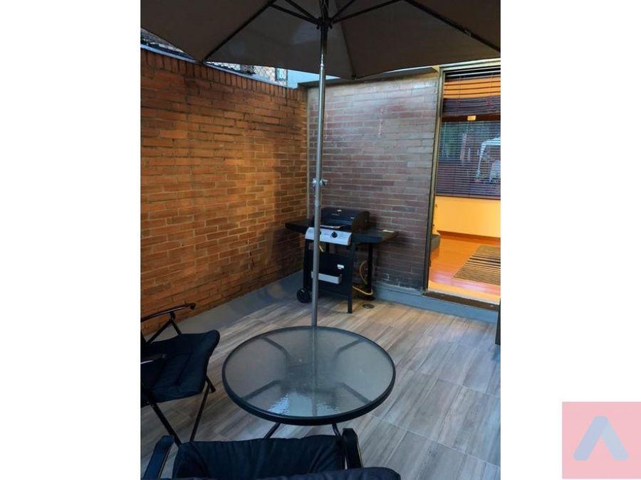 venta apartamento chico navarra 55m2 1 alcoba 1 bano terraza