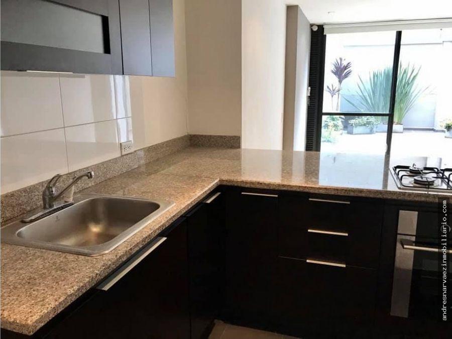 venta apartamento con terraza una alcoba