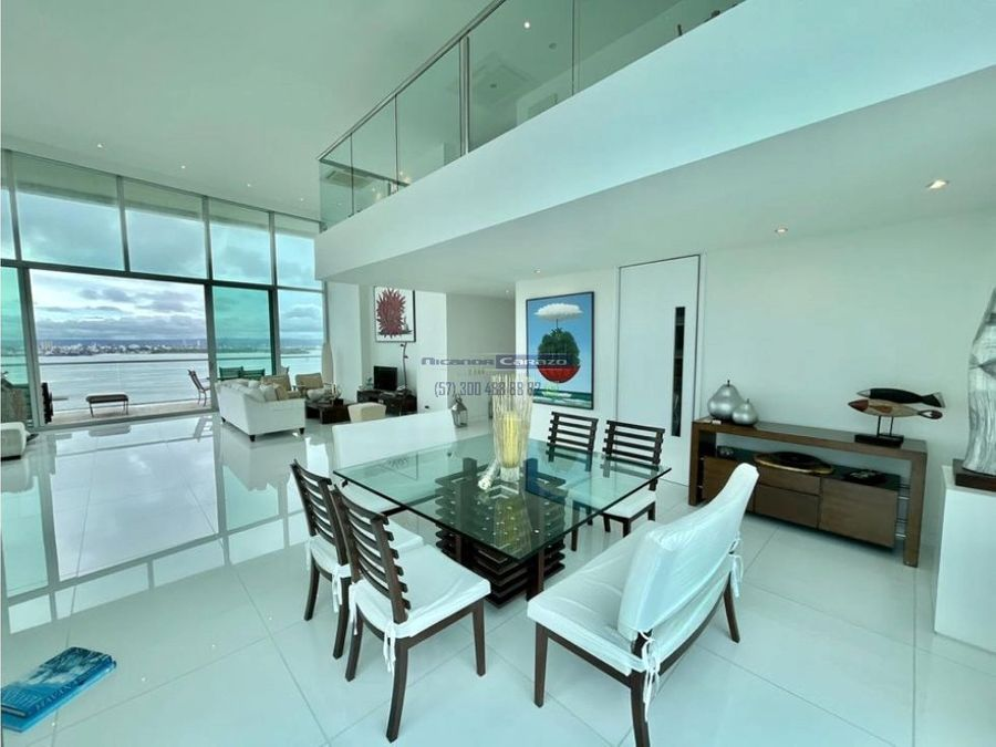 venta apartamento duplex 3 alcobas bahia 419 en bocagrande cartagena