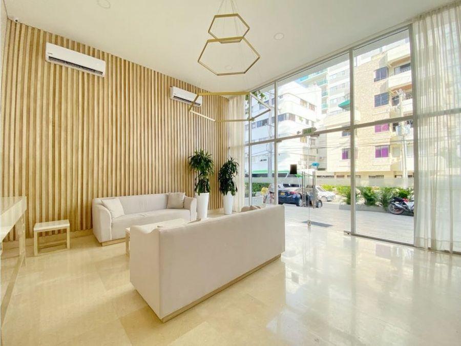 venta apartamento de 1 alcoba en edificio bari en manga cartagena
