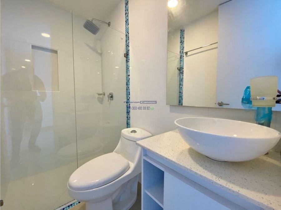 venta apartamento de 3 alcobas en isla taormina en crespo cartagena