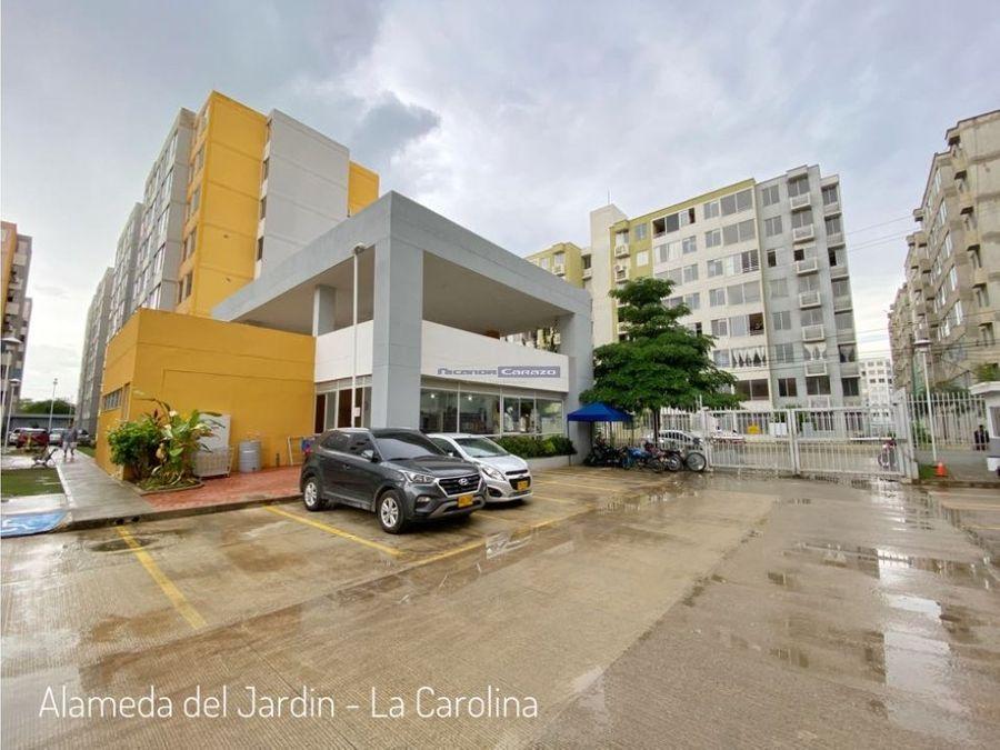 venta apartamento en alameda del jardin en la carolina cartagena