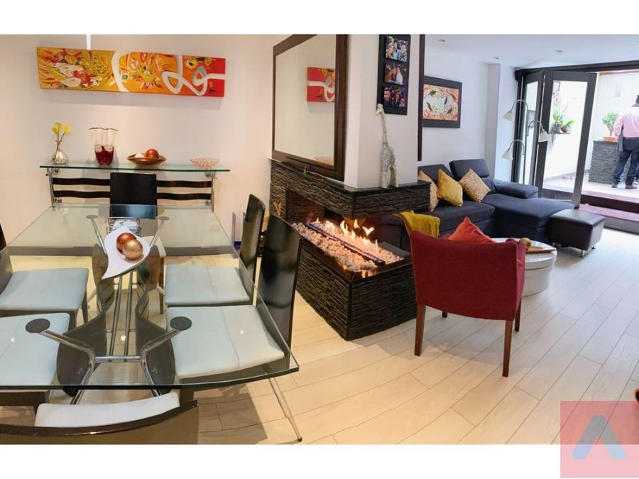 ventarenta apartamento en rosales 130 m2 con terraza 3alcobas 3 banos