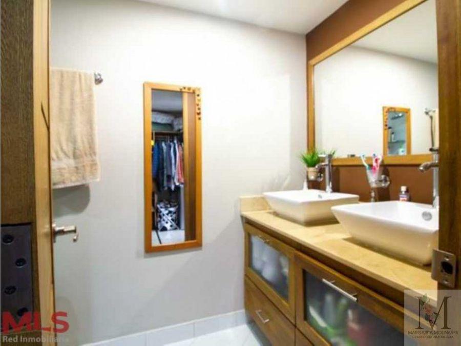 venta apartamento grande de lujo en sabaneta piso alto