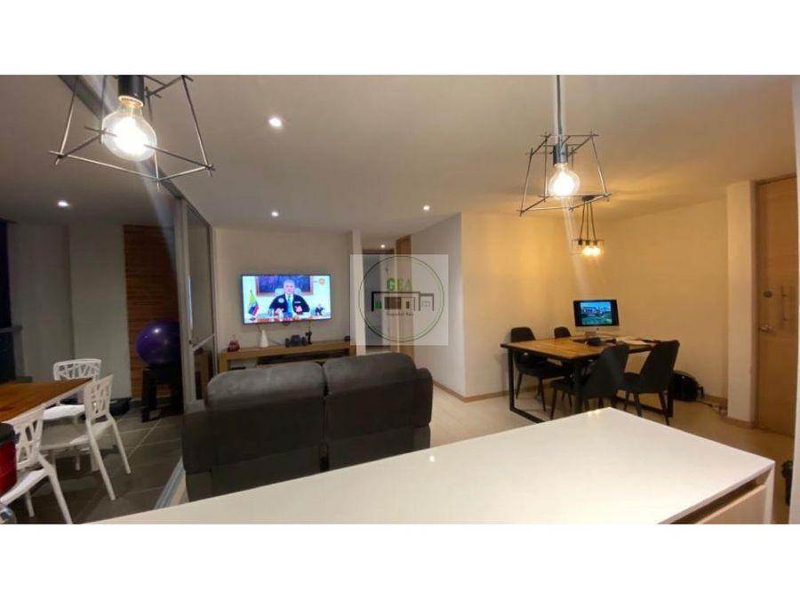 venta apartamento loma del esmeraldal envigado 78 m2
