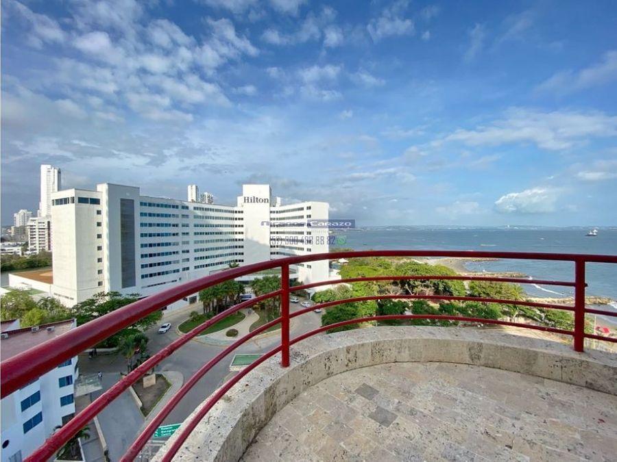 venta apartamento penthouse 4 habitaciones en el laguito cartagena