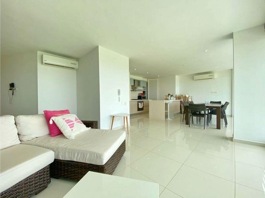 venta apartamento penthouse duplex en karibana cartagena