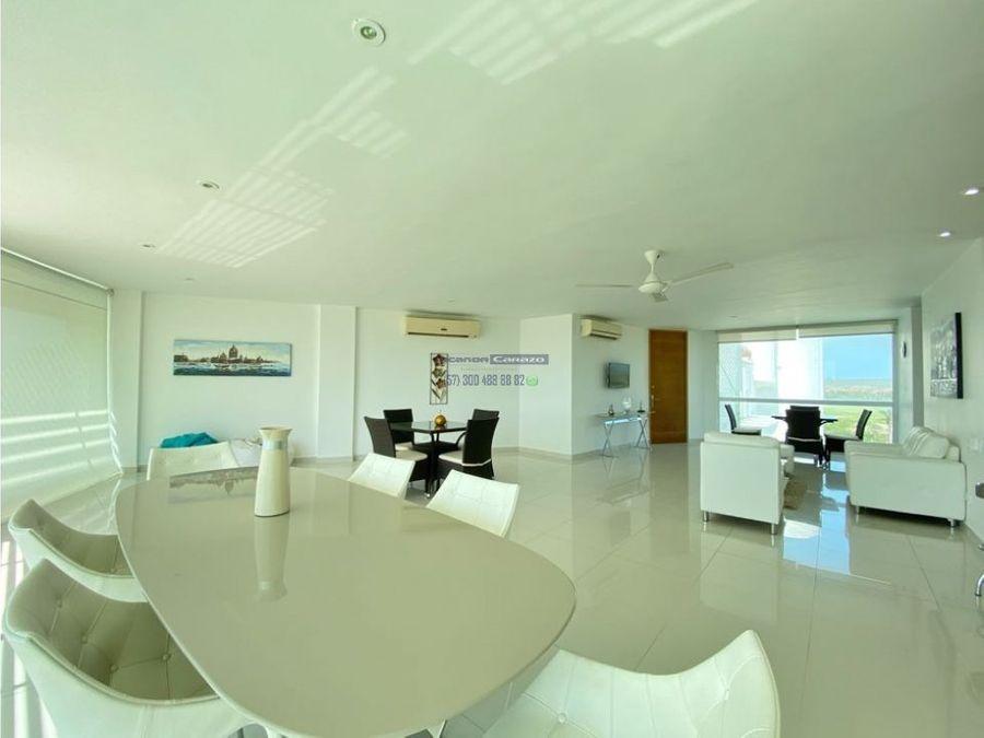 venta apartamento penthouse duplex karibana beach golf cartagena