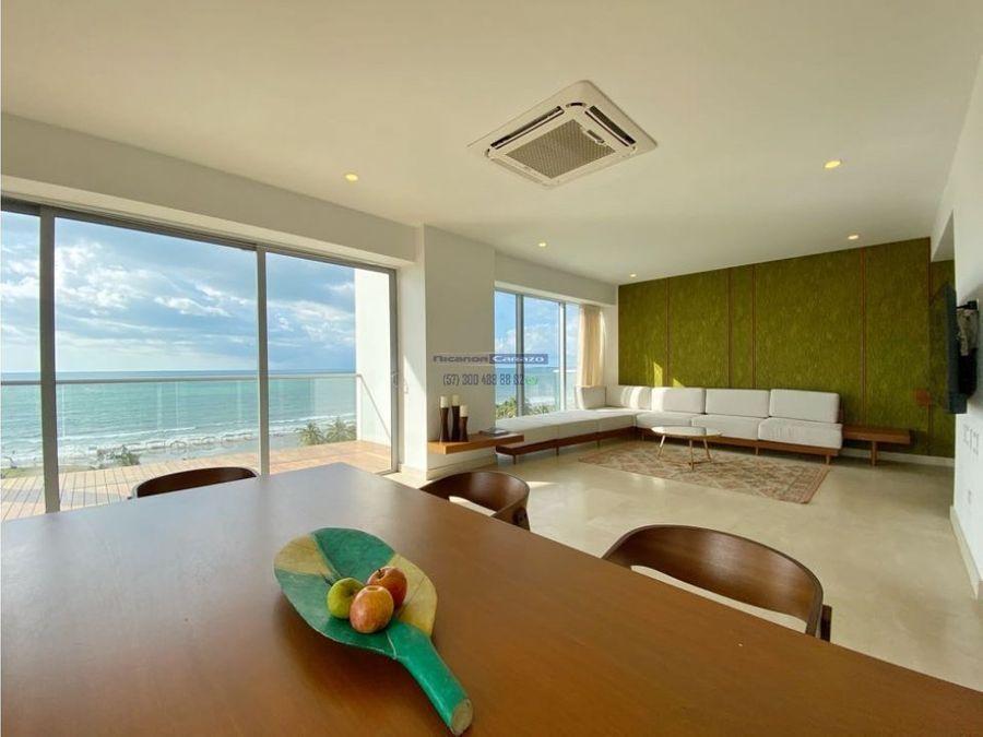 venta apartamento penthouse en morros eco serena del mar cartagena