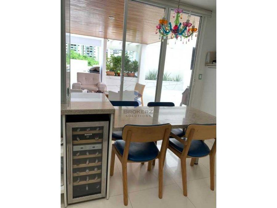 venta apartamento ph307m2 3h 4b 2esanta rosa de lima baruta