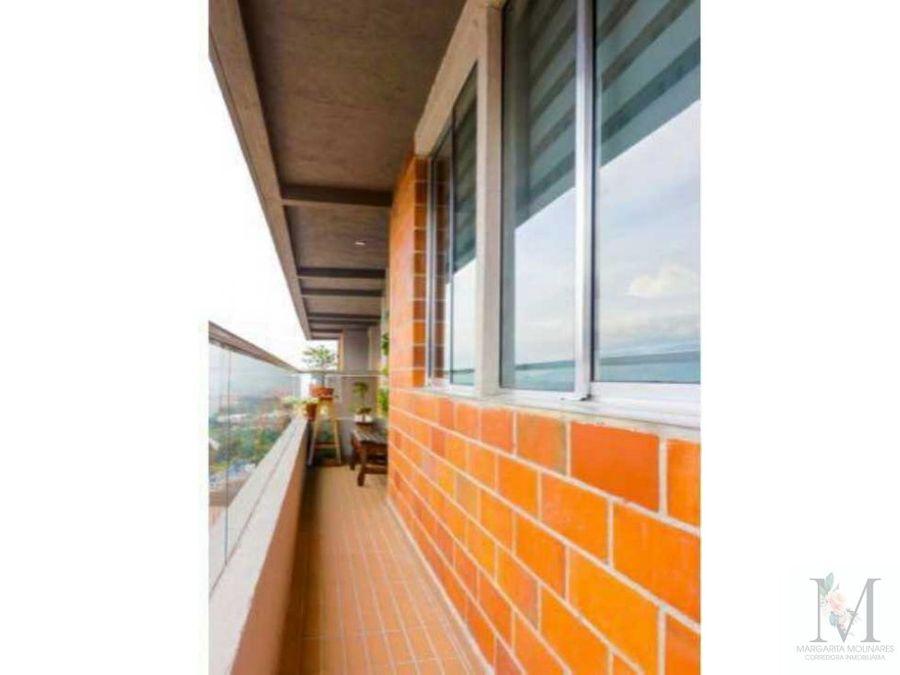 venta apartamento sabaneta central sector mayorca vista a la ciudad