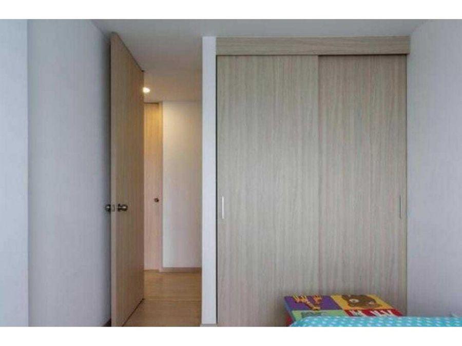 venta apartamento semi nuevo en la aldea