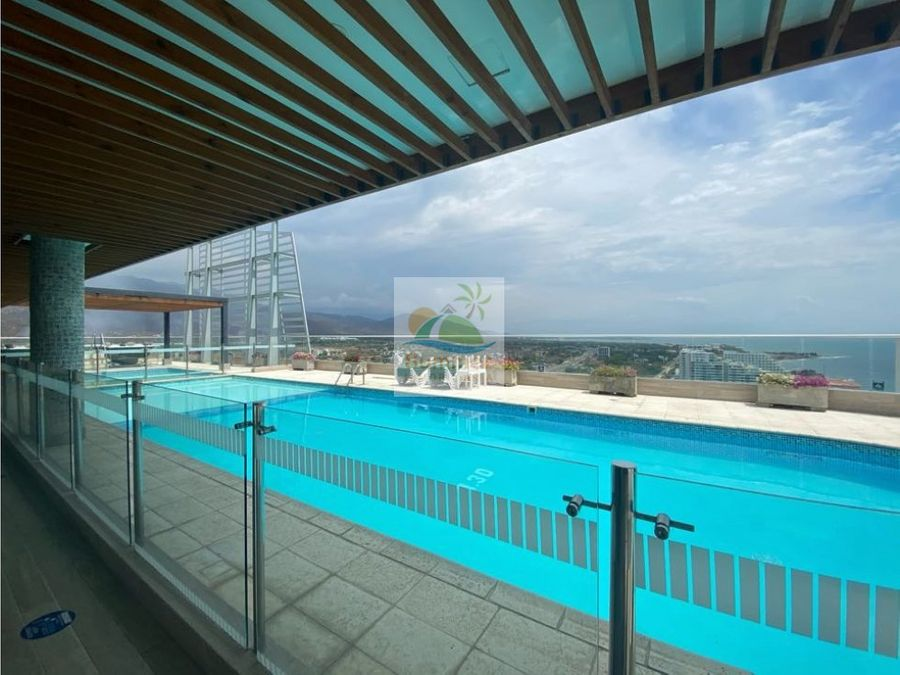 venta apartamento two towers 1 alcoba