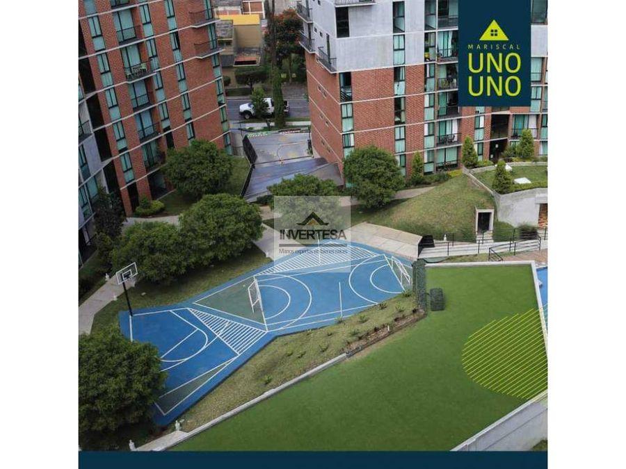 venta apartamento zona 11 edificio mariscal uno uno