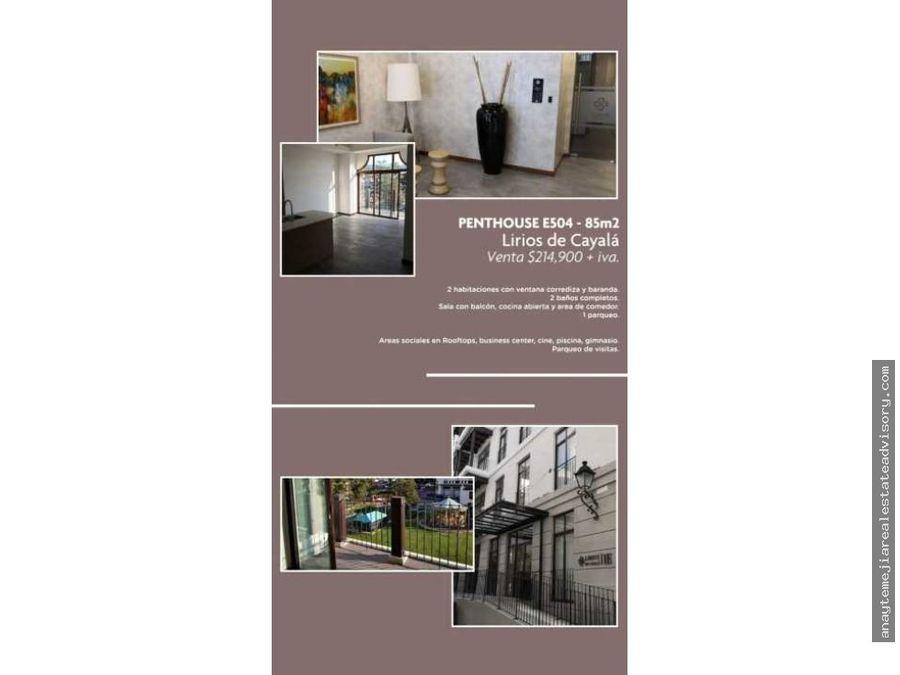 venta apartamento zona 16