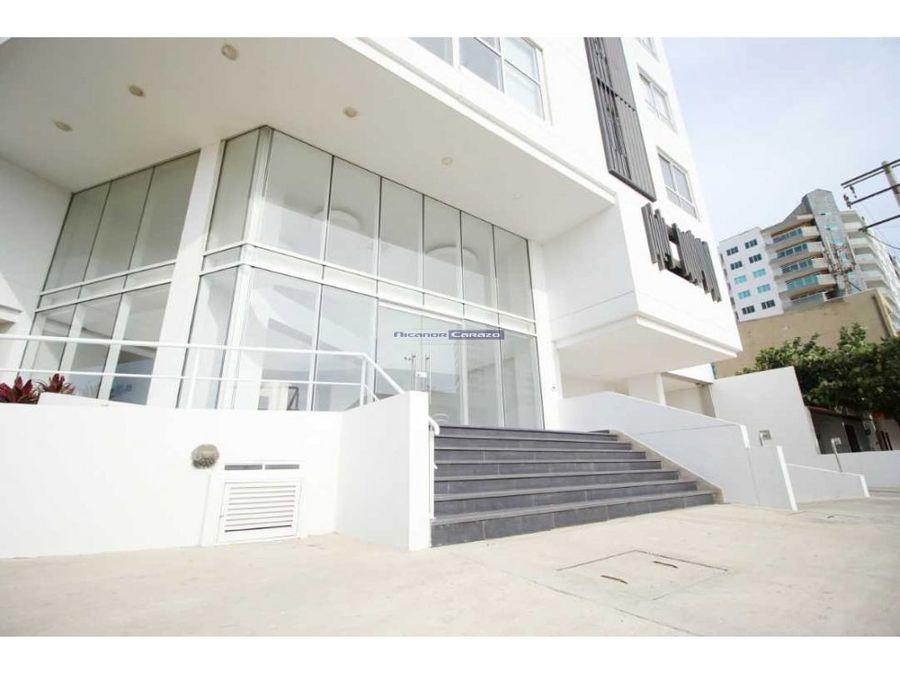 venta apartamento 1 alcoba en edificio oceana en crespo cartagena