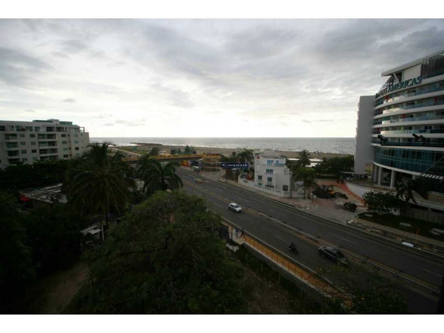 venta apartamento 1 alcoba en cielo mar cartagena
