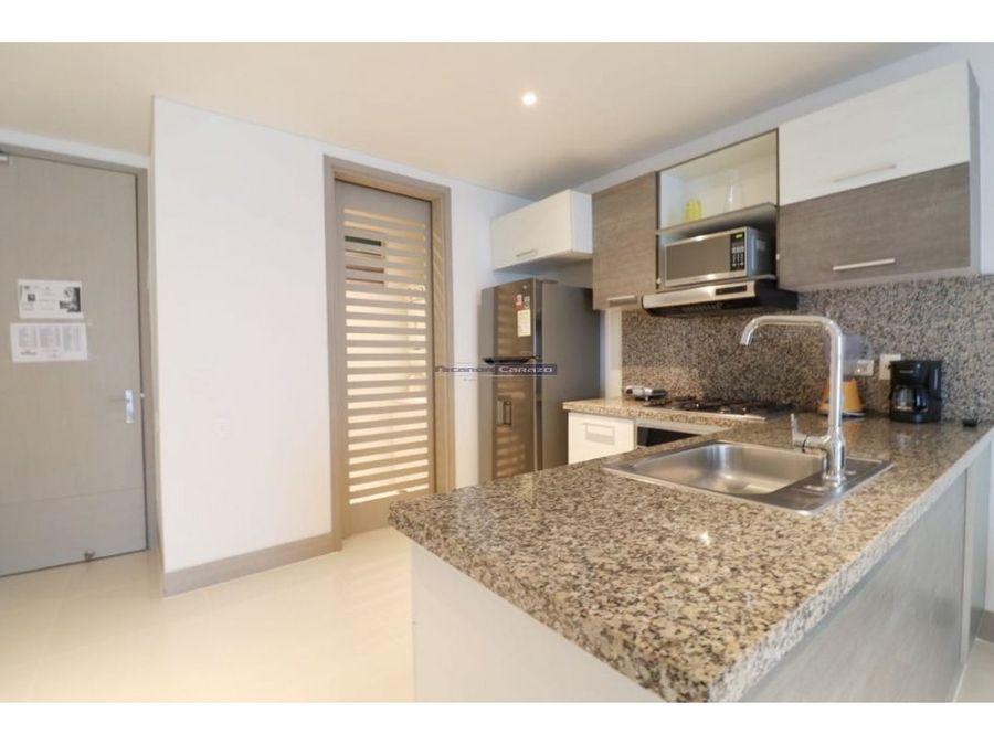 venta apartamento 1 alcobas amoblado palmetto beach cartagena