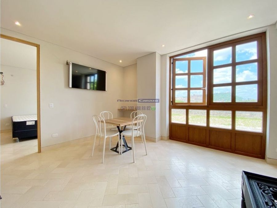 venta apartamento 1 habitacion en barrio getsemani casa pedregal