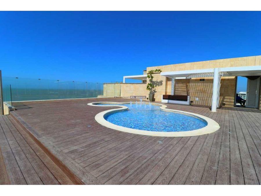 venta apartamento 2 alcobas en spiaggia cartagena en la boquilla