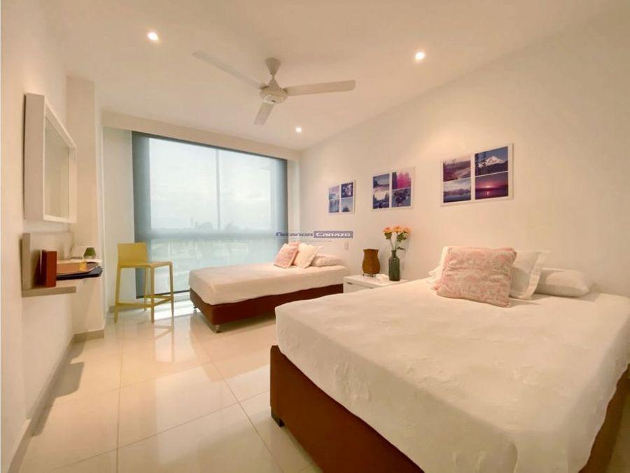 venta apartamento 2 alcobas en karibana beach golf cartagena de indias