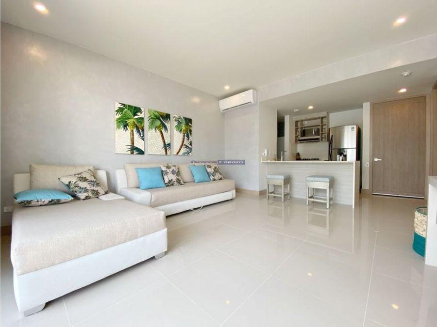 venta apartamento 1 alcoba en morros eco serena del mar cartagena
