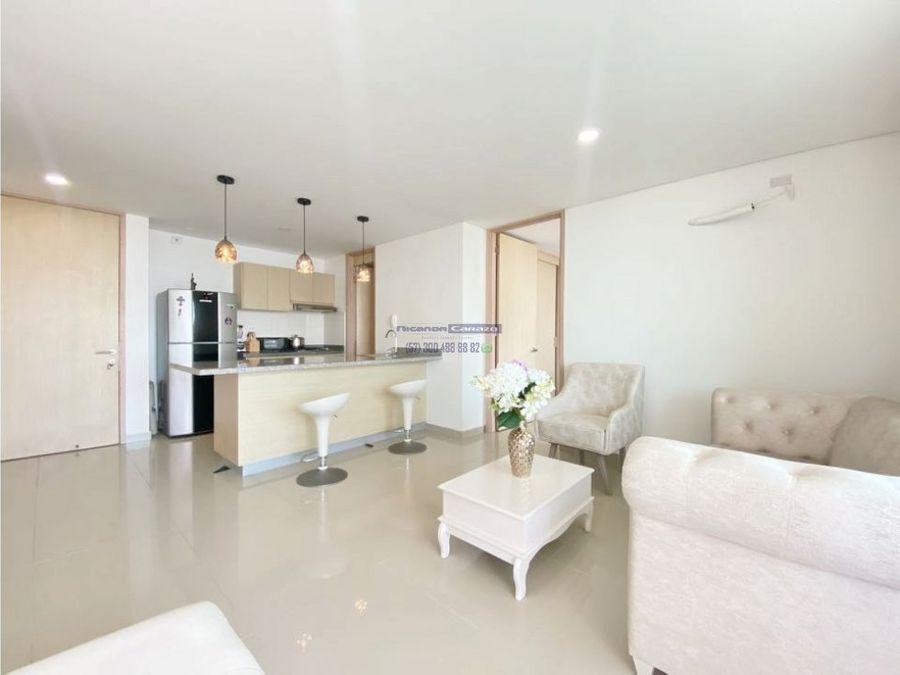 venta apartamento 2 alcobas en laguna del cabrero marbella cartagena