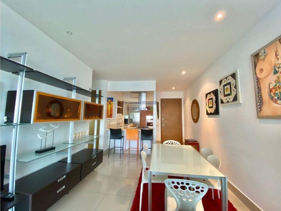 venta apartamento 2 alcobas en heritage castillogrande en cartagena