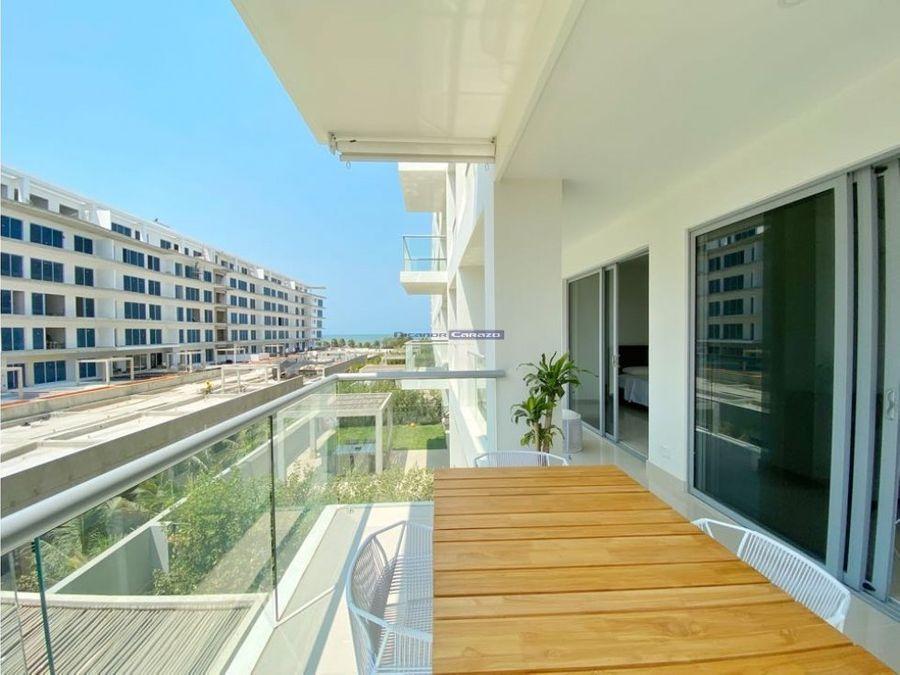 venta apartamento 2 alcobas morros eco en serena del mar cartagena