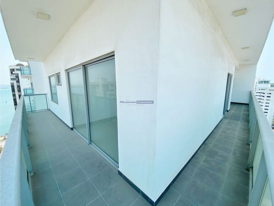 venta apartamento 3 alcobas en edificio infinitum bocagrande cartagena