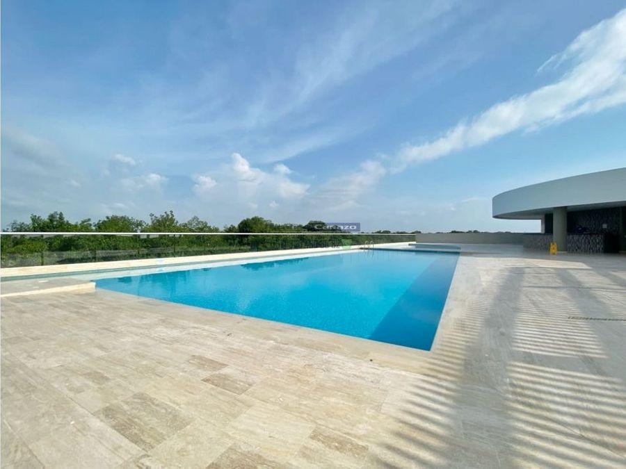 venta apartamento 3 alcobas condominio geminis en cielo mar cartagena