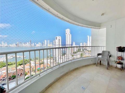 venta apartamento 3 alcobas condominio vista bahia manga cartagena